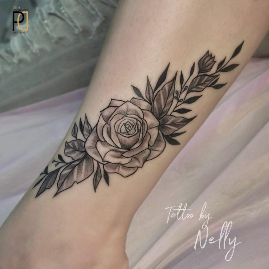 Мастер художественной татуировки Nelly