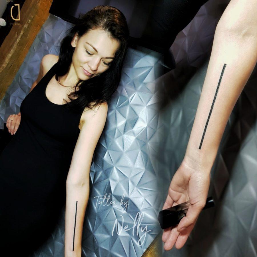 Простота – ключ к смелым татуировкам! Тату мастер Nelly